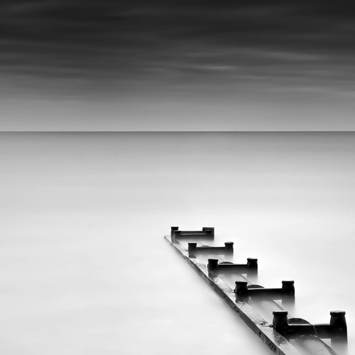 Long exposure seascape of Elmer, England by Spencer Brown