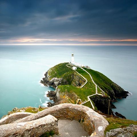 South Stack Lighthouse by Nicolas Rottiers