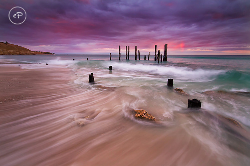 Port Willunga in Australia