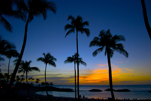 Sunset at Ko'Olina by Joe Philipson