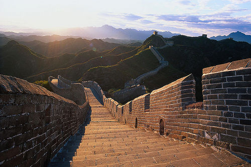 The Great Wall by Bernard Goldbach