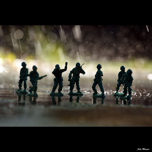 The Greatest Generation toy soldiers