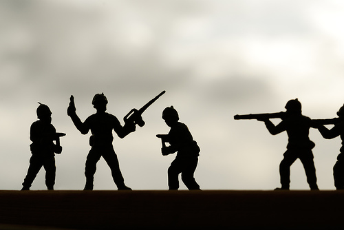 Toy Soldiers (silhouette)