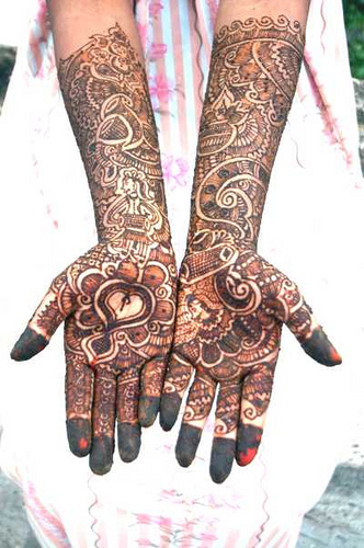 Heena Tatoo arms