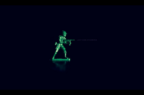 last man standing toy soldiers