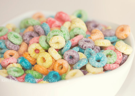 Fruit Loop Cereal Art
