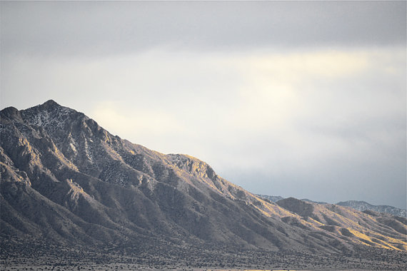 Majestic Desert Mountain