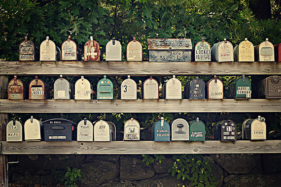Vintage Mailboxes new england