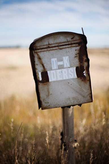 The Anderson's old Mailbox