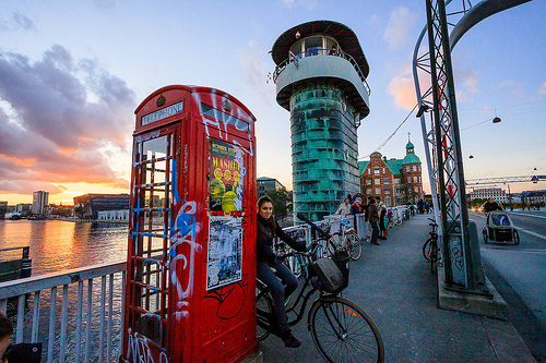 Knippelsbro phone booth
