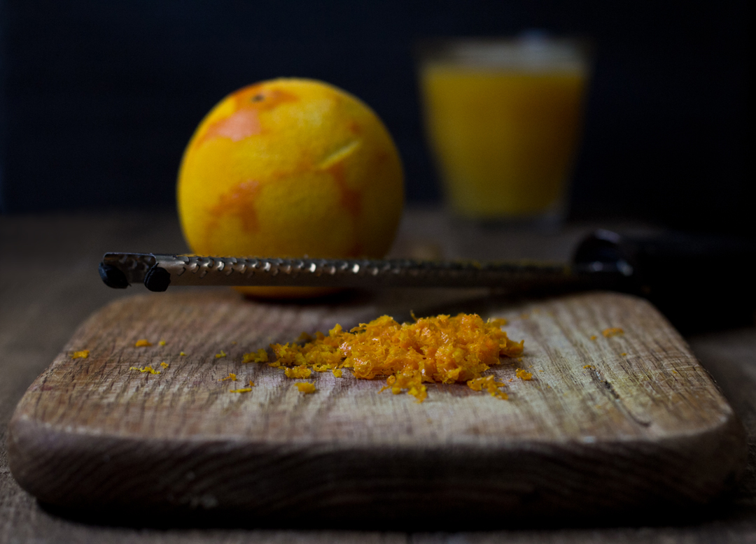 Orange & Roasted Plum Sorbet