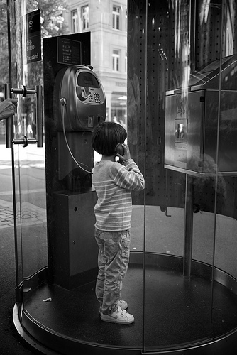 Calling Home... pay phone