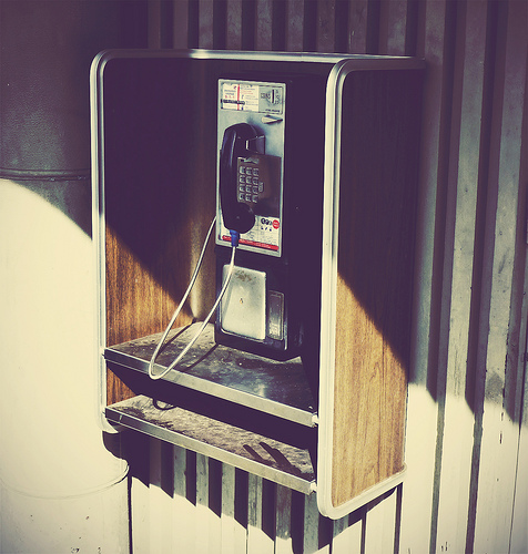 Phone Booth pay