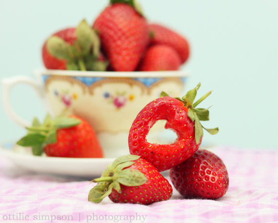 Cup Full of Strawberries, Strawberry Heart