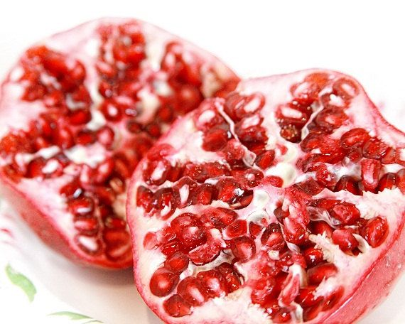 Lovely Red pomegranate seeds