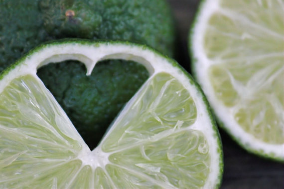 For The Love of Lime heart