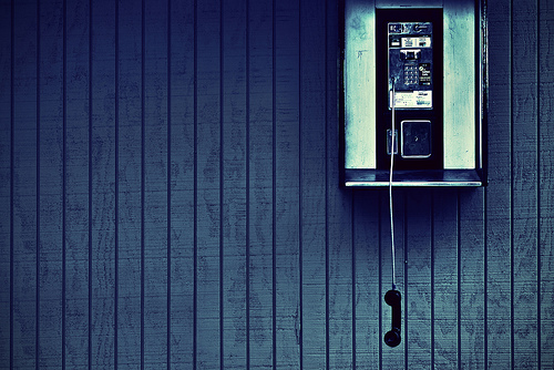 Are You There? pay phone