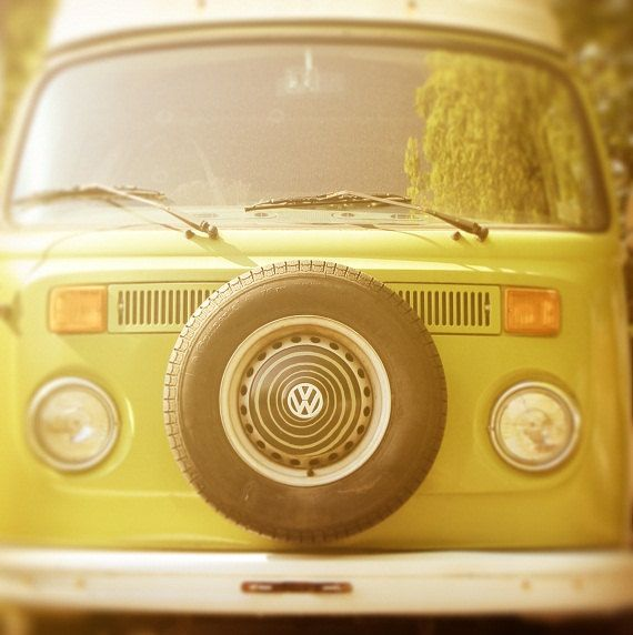 Retro VW van
