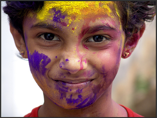 SHRUTI holi festival of colors