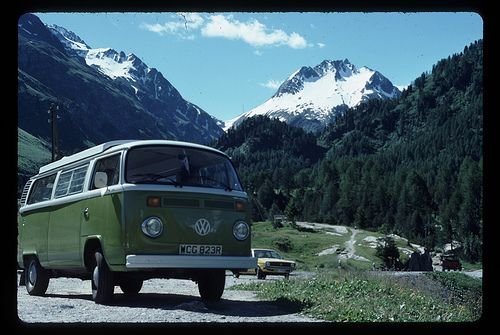 VW Camper Van August 1977