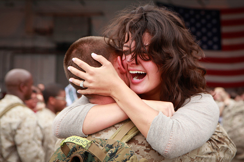 VMAQ-2 Marines return from Afghanistan