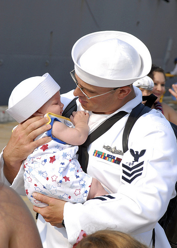 USS Gonzalez Welcomed Back Home