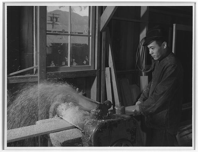 Hidemi Tayenaka, wood worker ansel adams