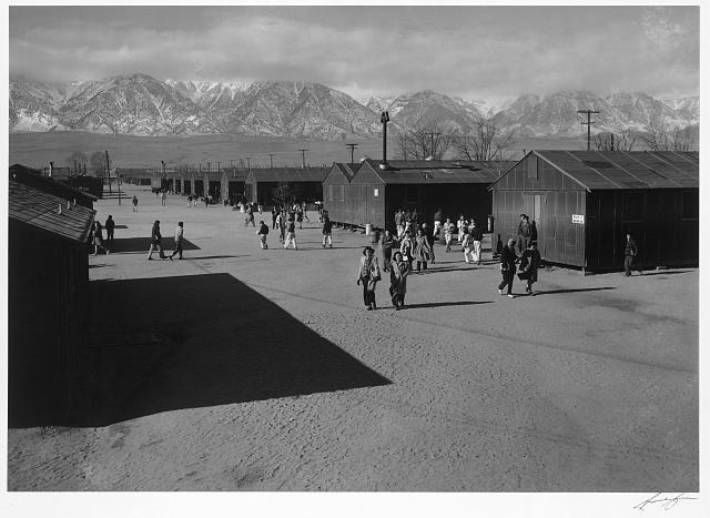 High school recess period ansel adams