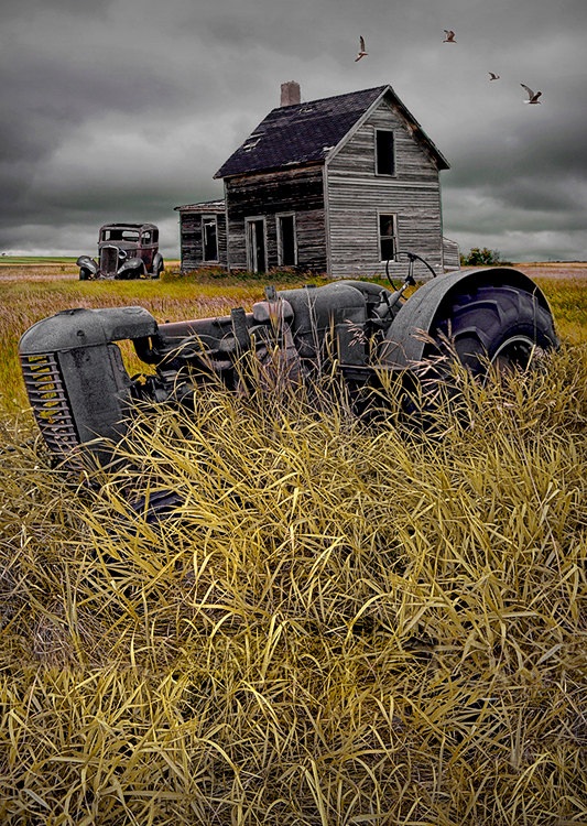 Decline of the Small Farm No.2 tractor