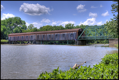 Harpersfield Covered Bridge
