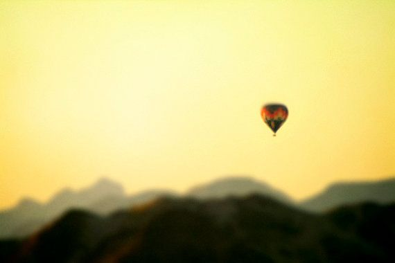 hot air balloon namibia