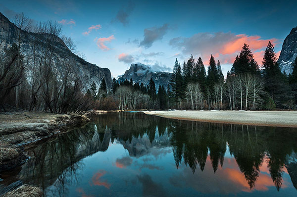 Cotton Candy Clouds in Yosemite - One of my yearly Winter Wonderland escapades.