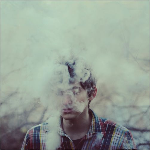 smoke portrait