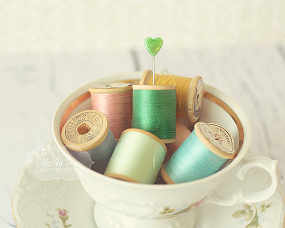 teacup thread spool