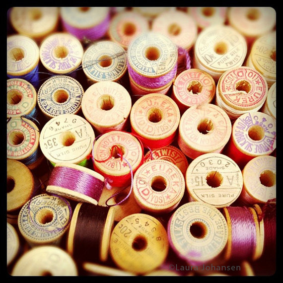 thread spool vintage