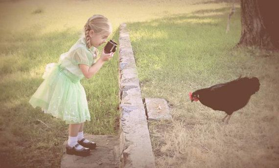 Little Girl Photographer
