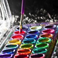 18 Colorful Pictures of Paint and Paintbrushes