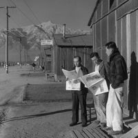 Ansel Adams: Photos of the Japanese-American Internment during WWII