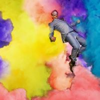 Chase Jarvis Floating In a Sea of Insanely Vividly Colored Clouds