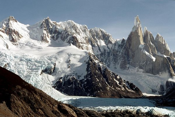 Argentina mountains Cerro Torre