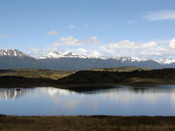 Argentina mountains lake