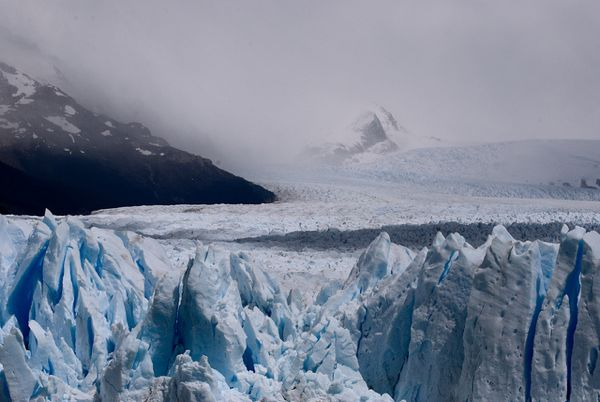 Argentina ocean ice mountain