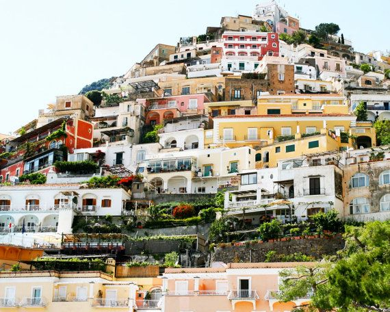 Cliffside Homes of Positano