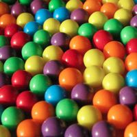 Photographs of Colorful Candies