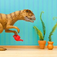 20 Silly Pictures of Toy Dinosaurs