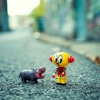 Quirky Toy Pictures by Patrick Andrew Adams
