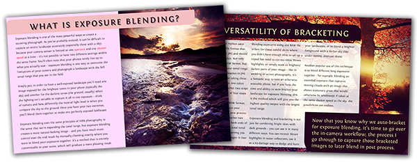 Learn how to selectively blend exposures together in this free eBook.