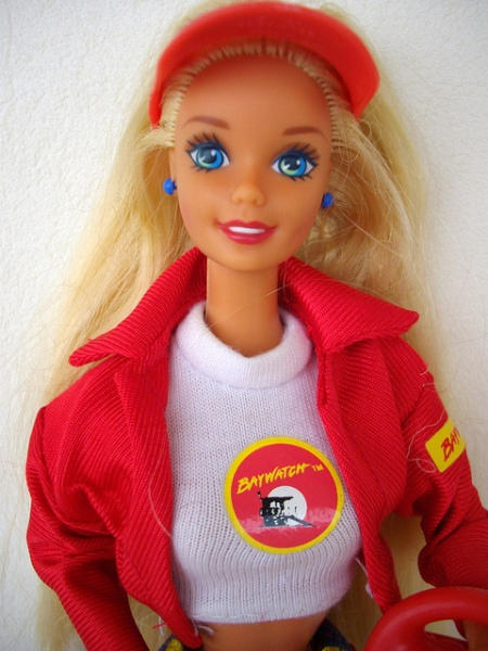 Baywatch Barbie by Freddycat1