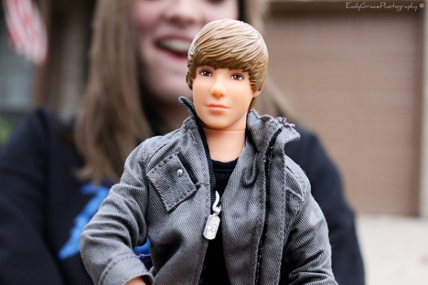 Justin Bieber Barbie by Emily Burnett