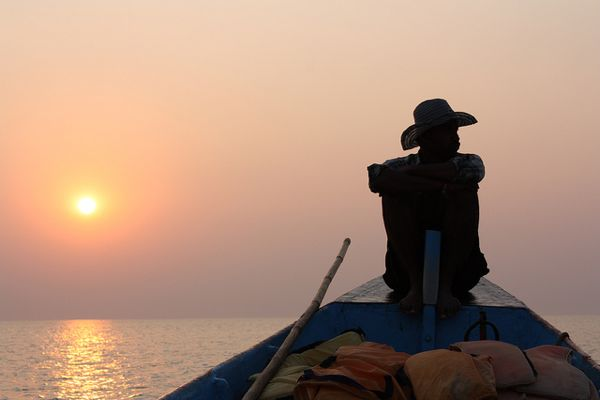 Fisherman Boat Gokarna India